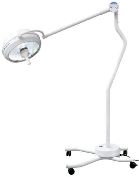 Halogen surgical light / mobile / 1-arm 100 000 lux | D400 Rimsa P. Longoni