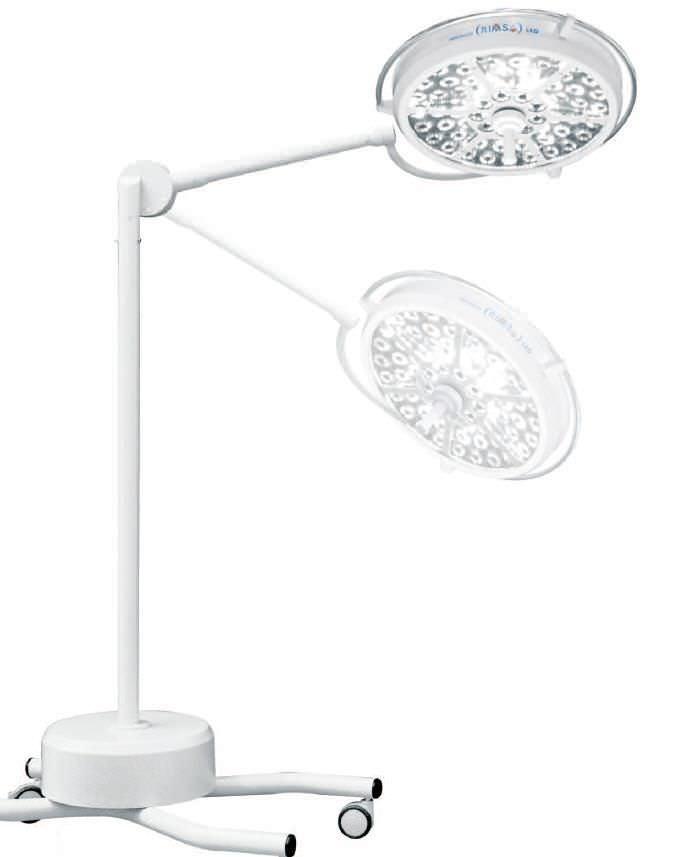 LED surgical light / mobile / 1-arm 160 000 lux | Pentaled 63N Rimsa P. Longoni