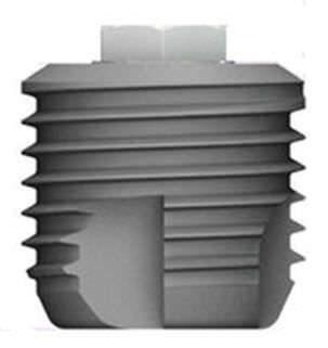 Cylindrical dental implant / external hexagon RESCUE MEGAGEN IMPLANT Co., Ltd.