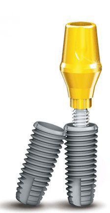 Tapered dental implant / internal tri-lobe EZPLUS MEGAGEN IMPLANT Co., Ltd.
