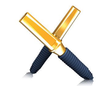 Cylindrical dental mini-implant MINI MEGAGEN IMPLANT Co., Ltd.