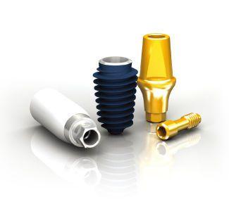 Conical dental implant / internal hexagon / self-tapping ANYRIDGE MEGAGEN IMPLANT Co., Ltd.