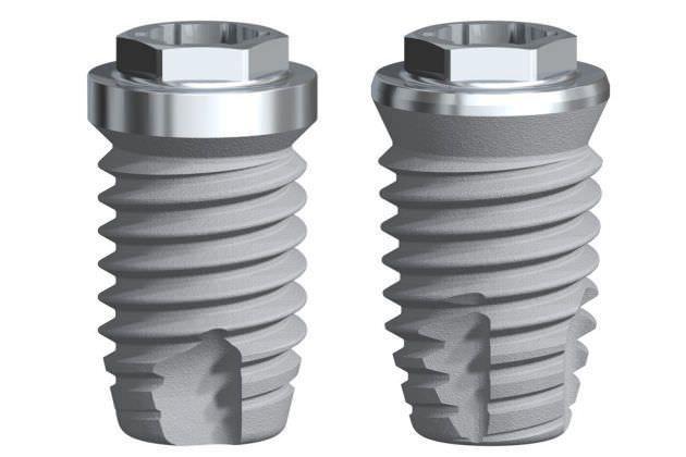 Cylindrical conical dental implant / titanium / external hexagon Brånemark System Series Nobel Biocare Services AG