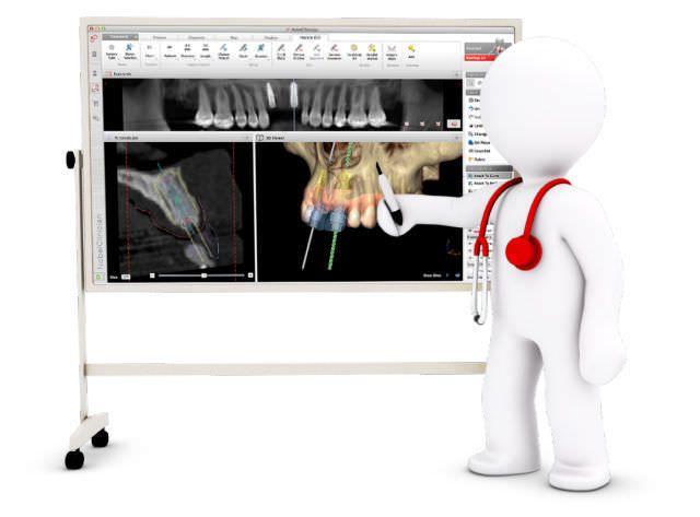 Communication software / diagnostic / planning / dental NobelClinician® Nobel Biocare Services AG