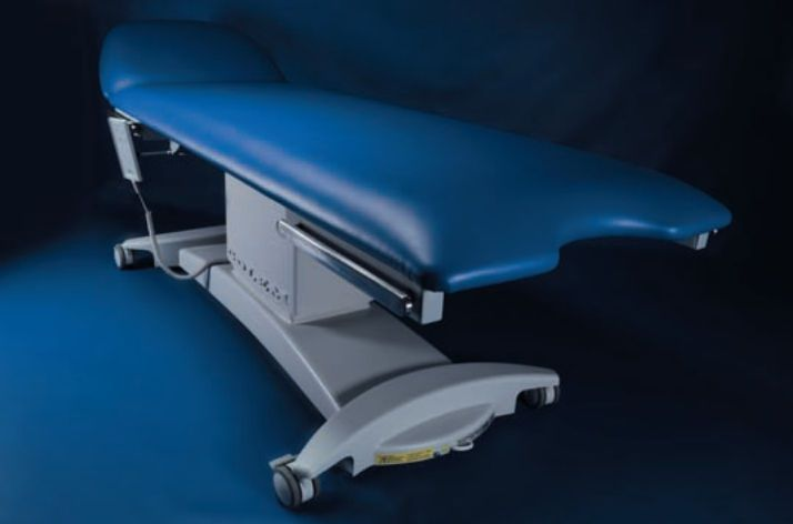 Electrical examination table / height-adjustable / 2-section GOLEM 2S RQL - GOLEM tables