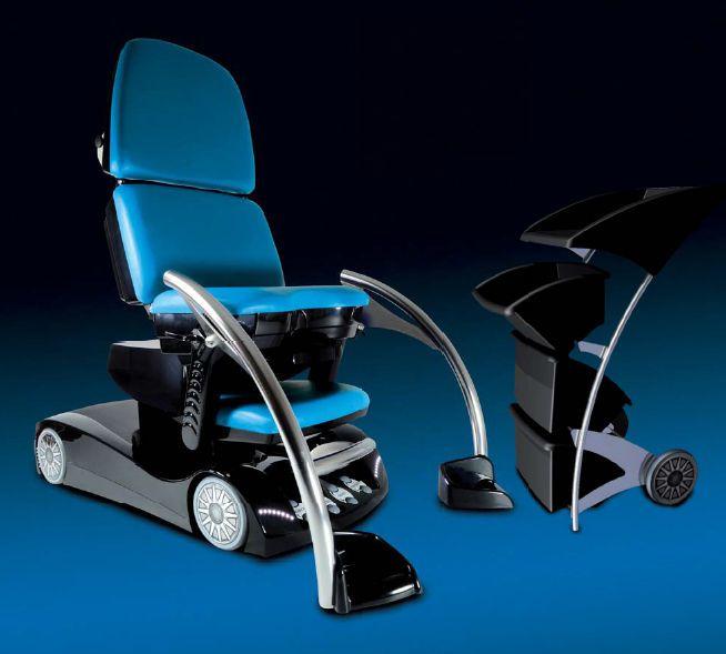 Gynecological examination chair / urological / electrical / height-adjustable Golem F1 RQL - GOLEM tables