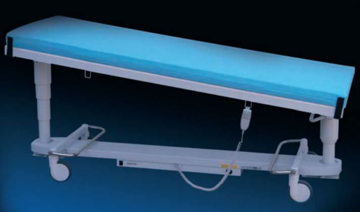 Height-adjustable radiography table / mobile / electrical / with table GOLEM R RQL - GOLEM tables