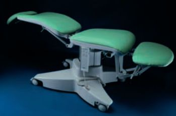 ENT examination chair / ophthalmic / electrical / 3-section GOLEM ORL P RQL - GOLEM tables