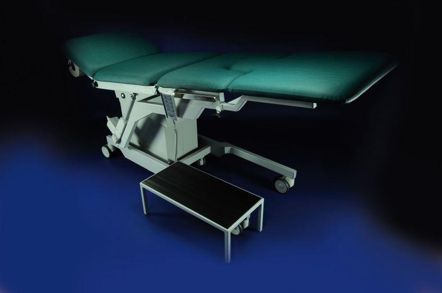 Gynecological examination chair / urological / electrical / on casters GOLEM URODYNAMIC RQL - GOLEM tables