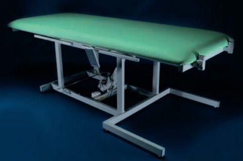 Electrical tilt table / 2-section / height-adjustable GOLEM V RQL - GOLEM tables