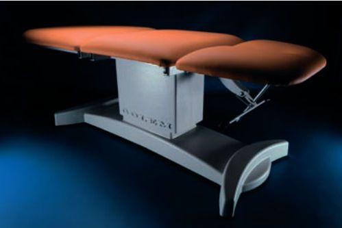 Electrical examination table / height-adjustable / 3-section GOLUM 3 EXCUSIV RQL - GOLEM tables