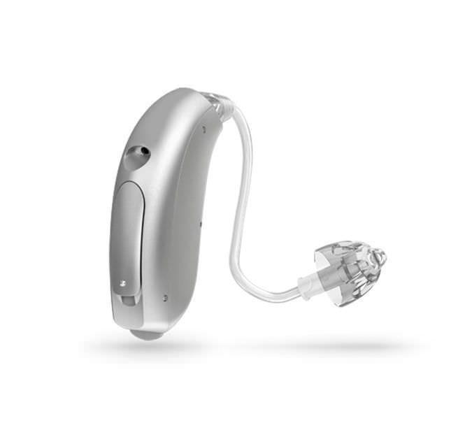 Mini behind the ear, hearing aid with ear tube Ria miniBTE Oticon