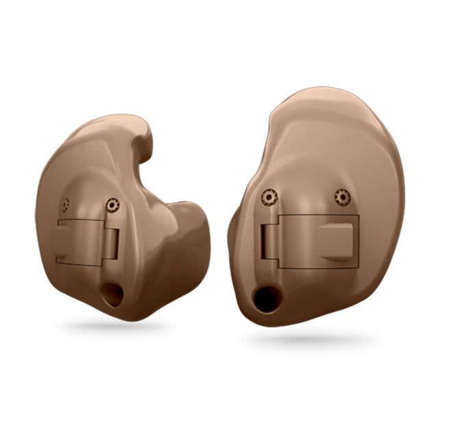 Full shell (ITE) hearing aid Nera full shell Oticon