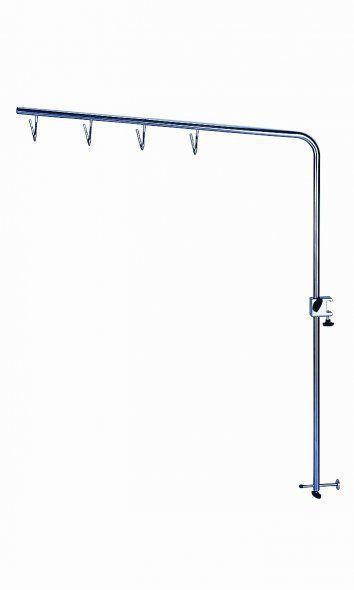 4-hook IV pole / rail-mounted M0009004 provita medical