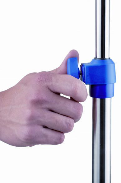 4-hook IV pole / telescopic / on casters I-O12222 provita medical