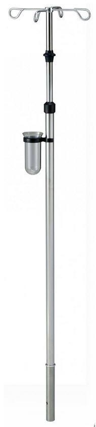 4-hook IV pole / telescopic / bed I1000302 provita medical