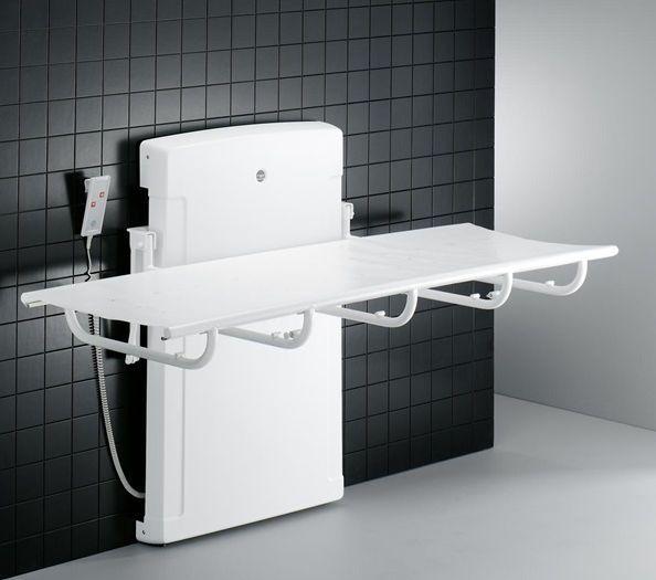 Electric shower stretcher / height-adjustable R8401 Pressalit Care