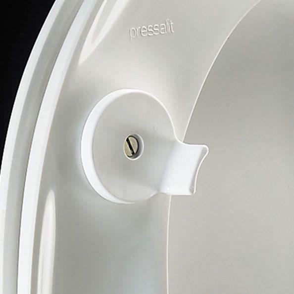 Raised toilet seat R36-D92 Pressalit Care