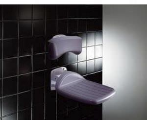 Shower seat / folding / wall-mounted / 1-person R1600 Pressalit Care