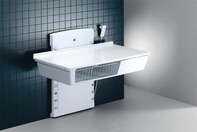 Changing table / height-adjustable / electric R8763 Pressalit Care