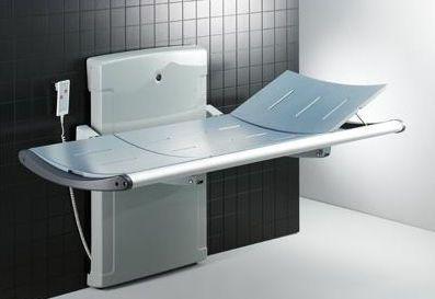 Electric shower stretcher / height-adjustable R8518 Pressalit Care