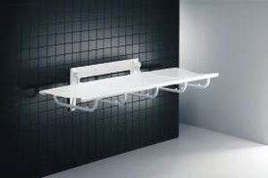 Wall-mounted shower stretcher R8405 Pressalit Care