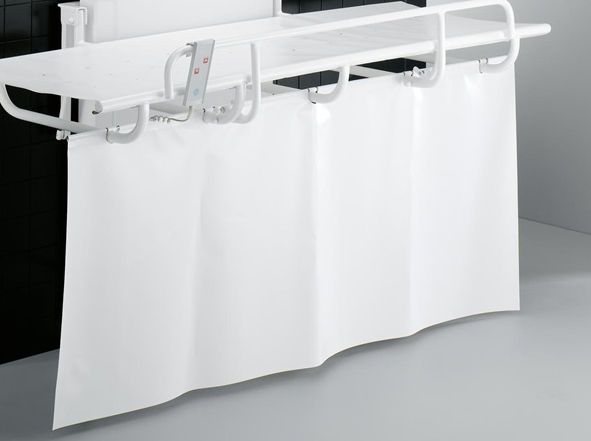Hospital screen with curtain / shower R8420 Pressalit Care