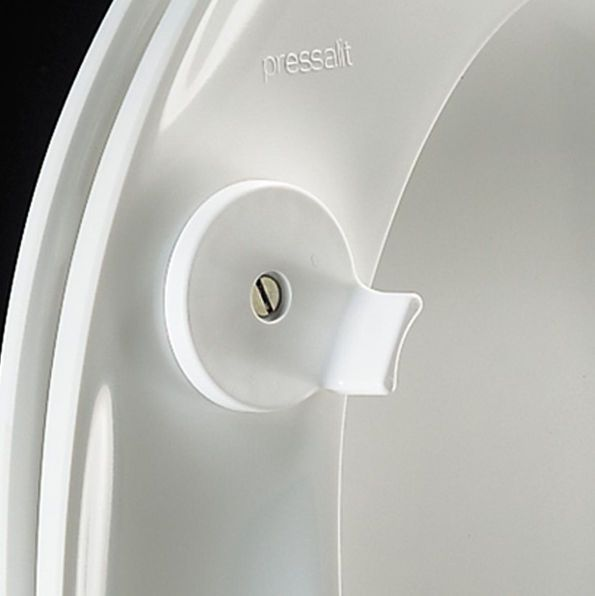 Raised toilet seat R30-BZ7 Pressalit Care