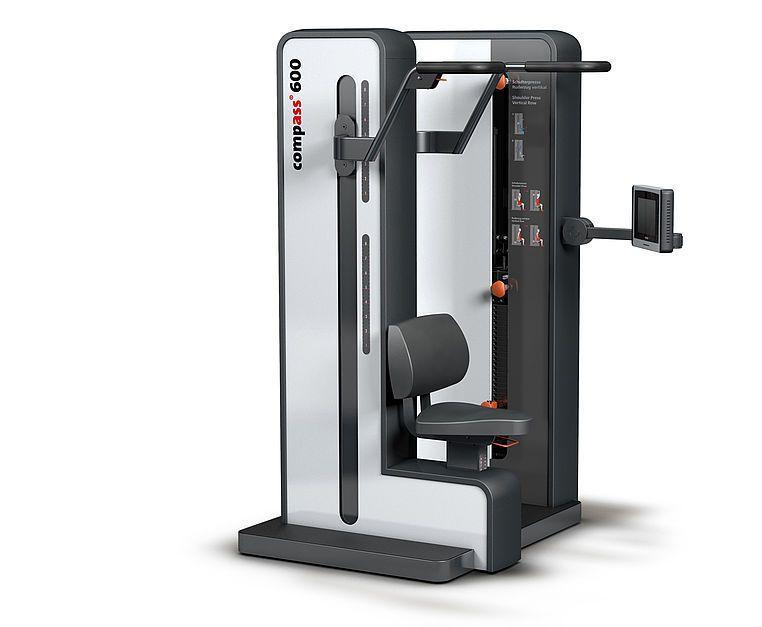 Weight training station (weight training) / shoulder press / traditional 10691500 proxomed Medizintechnik