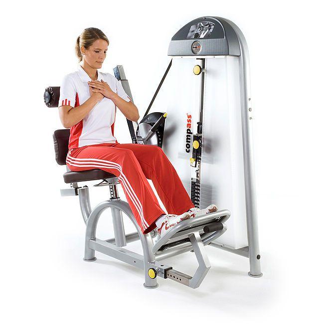 Weight training station (weight training) / back extension / rehabilitation B.E. 10092000 proxomed Medizintechnik