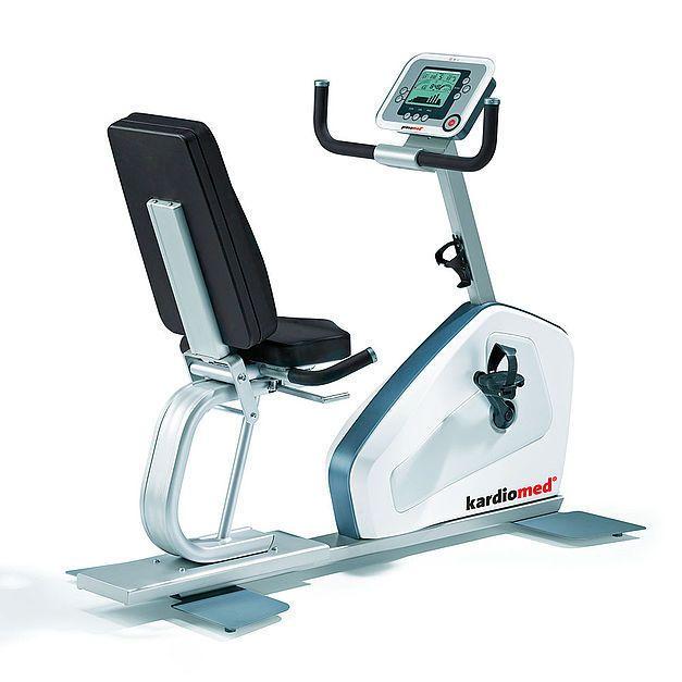 Semi-recumbent exercise bike / traditional 10061600 proxomed Medizintechnik
