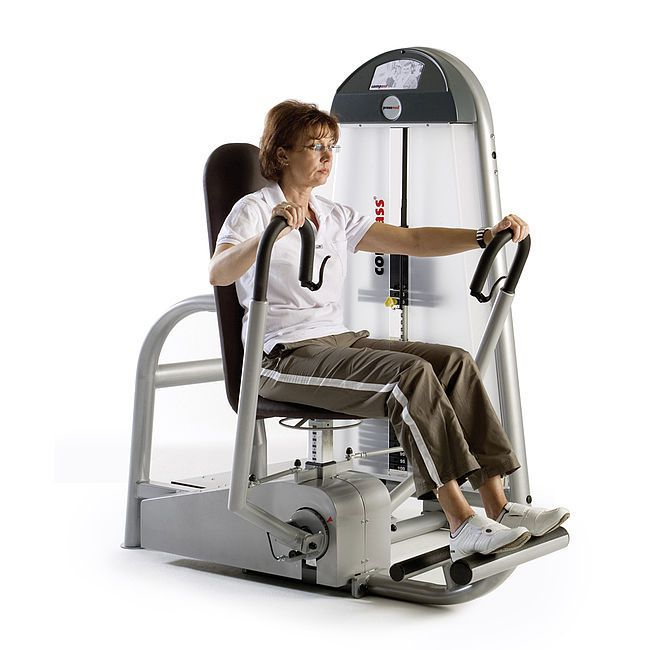 Weight training station (weight training) / chest press / rehabilitation C.P./R.M. COMBI 10145400 proxomed Medizintechnik