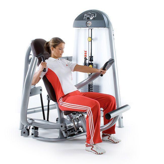 Weight training station (weight training) / chest press / rehabilitation C.P. 10090900 proxomed Medizintechnik