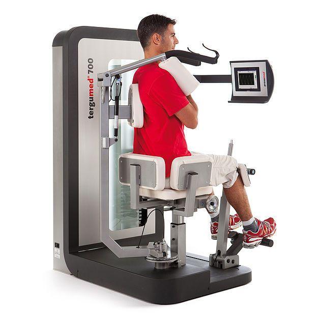 Weight training station (weight training) / rotary torso / traditional 10330300 proxomed Medizintechnik
