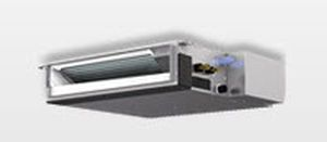 Duct fan coil unit / for healthcare facilities 1.1 - 3.2 kW   SEZ Mitsubishi Electric Cooling & Heating