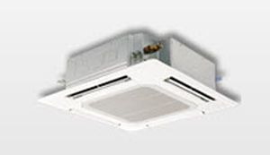 Cassette fan coil unit / for healthcare facilities 2.3 - 5.3 kW   PLA Mitsubishi Electric Cooling & Heating