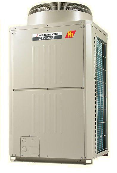 Inverter heat pump max. 46.9 kW   Y-Series H2i™ Mitsubishi Electric Cooling & Heating