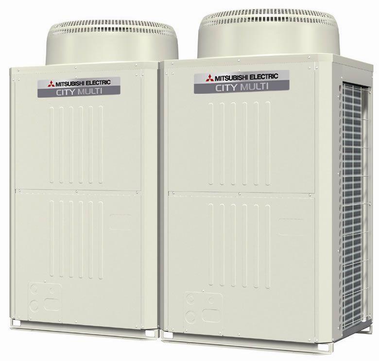 Inverter heat pump max. 39.6 kW   Y-Series Mitsubishi Electric Cooling & Heating