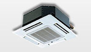Cassette fan coil unit / for healthcare facilities 0.9 - 3.2 kW   SLZ Mitsubishi Electric Cooling & Heating