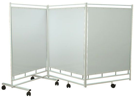 Hospital screen / on casters / 3-panel ZN3P series PROMA REHA