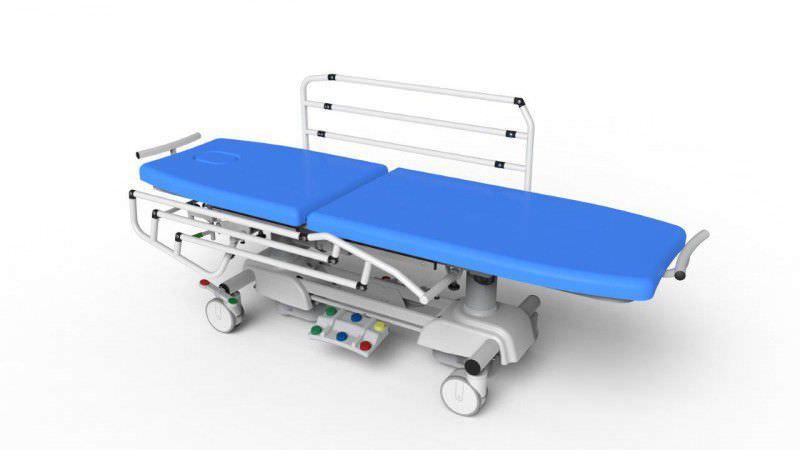 Electrical examination table / height-adjustable / folding ELEVA series PROMA REHA