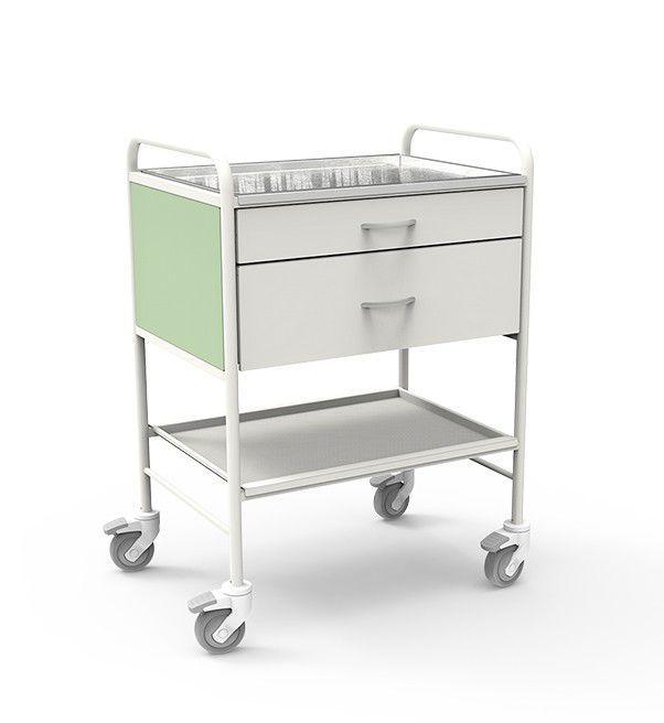 Multi-function trolley / 2-shelf / 2-drawer 7211 PROMA REHA