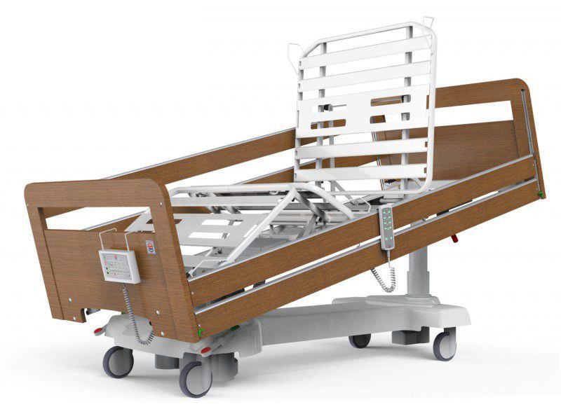 Electrical bed / reverse Trendelenburg / Trendelenburg / height-adjustable 300 kg | HESTIA 3C series PROMA REHA