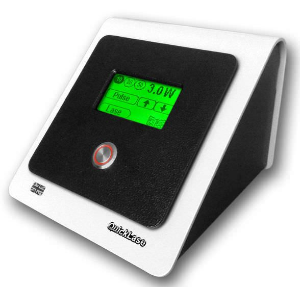 Dental surgery laser / diode / tabletop DentaLase 3w Quicklase Quickwhite
