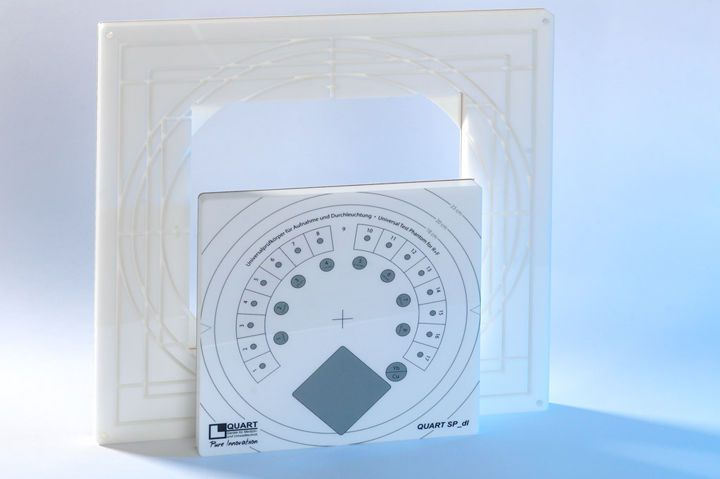 Radiography test phantom QUART SP_dl QUART X-Ray QA/QC