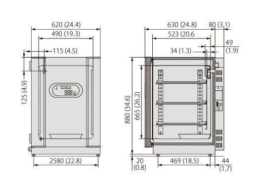 CO2 laboratory incubator / UV MCO-18AC Panasonic