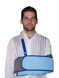 Arm sling with waist support straps / human 610S, 610S Pelican Manufacturing Pty Ltd