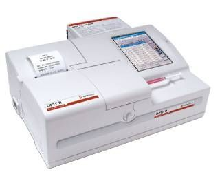 Blood gas and electrolyte analyzer OPTI® R OPTI Medical Systems