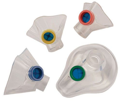 Nebulizing mask / facial / silicone / disposable nSpire health