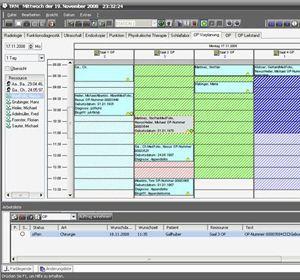 Patient data management system / intensive care NEXUS / PDMS Nexus AG